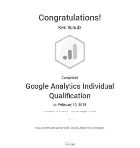 Google Analytics Indiv